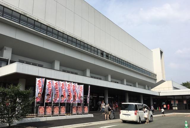 熊本総合体育館ヴォルターズ