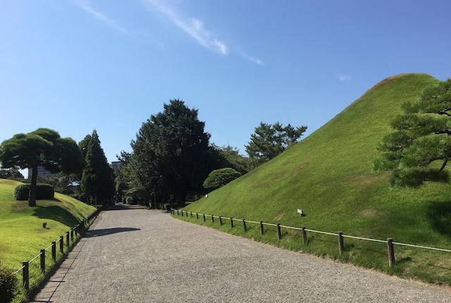 水前寺富士山