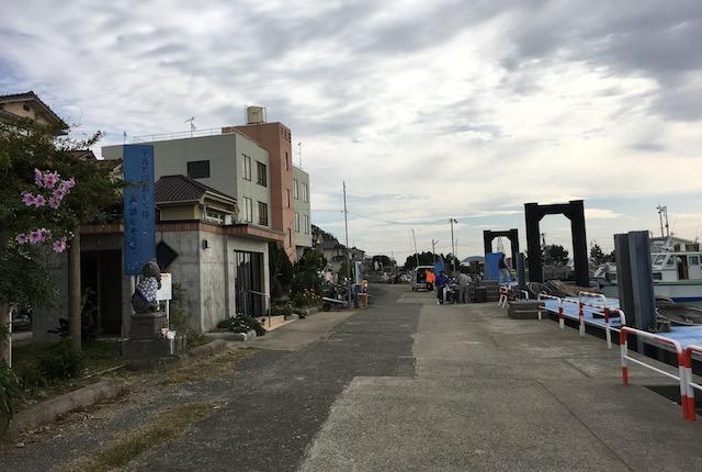 湯島港定期船乗り場