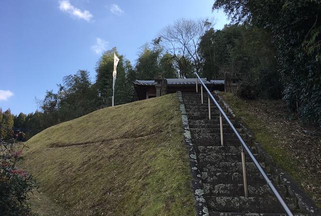 鬼王神社階段