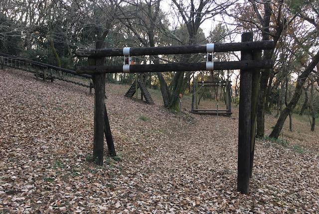 弁天山公園ターザン