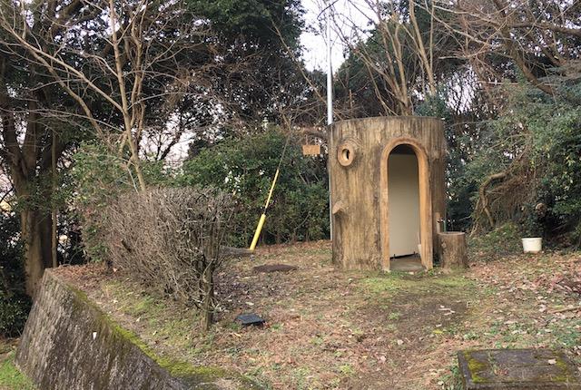 弁天山公園トイレ