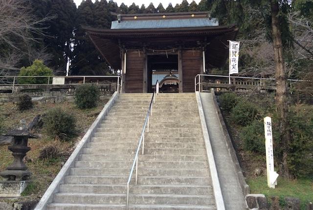 坂下阿蘇神社階段