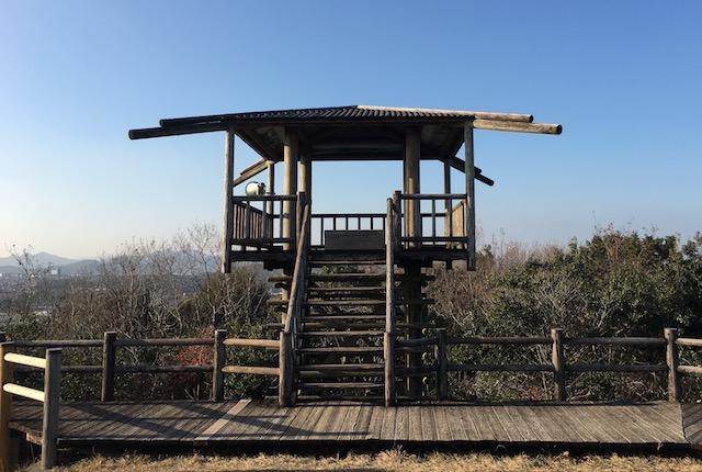 弁天山公園展望台