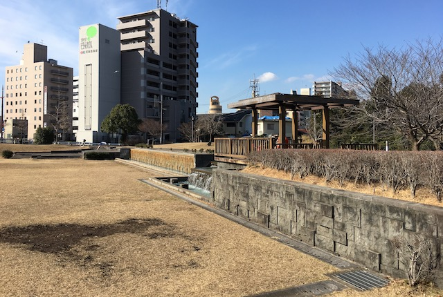 旧熊本市立体育館 跡地