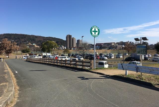 坪井川緑地駐車場