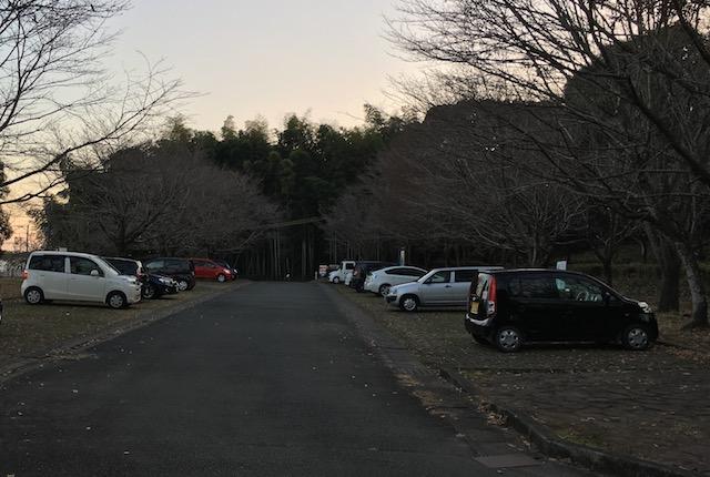 弁天山公園駐車場