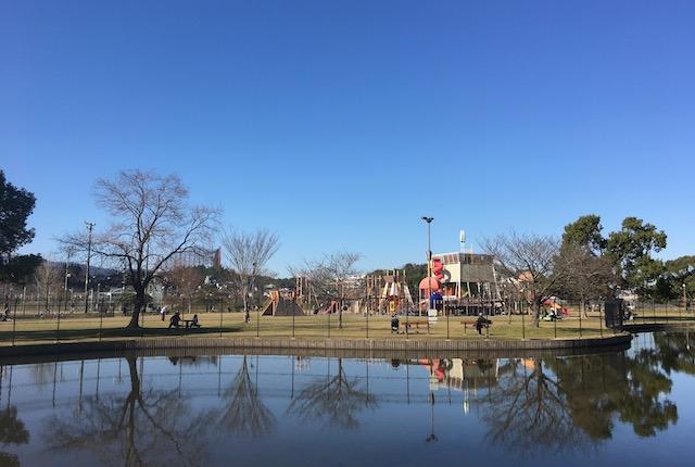 坪井川緑地公園