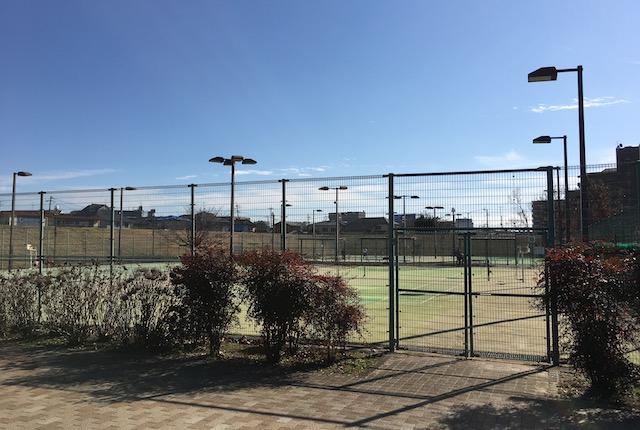 坪井川緑地テニスコート