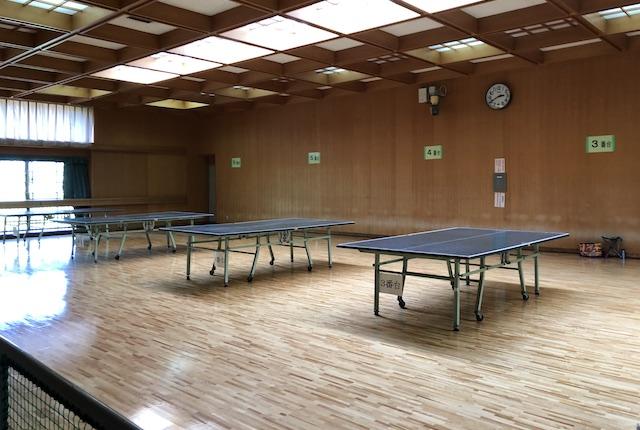 浜線健康パーク小体育室