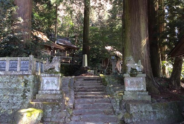 両神社の森