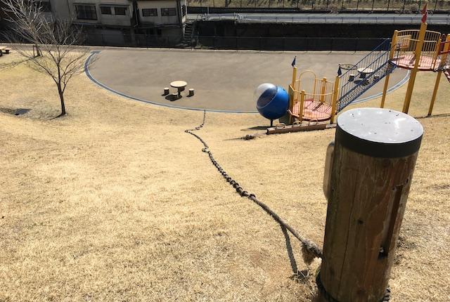 ロープ登り