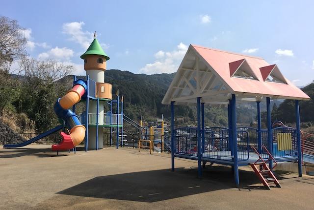 くま川ワイワイパーク展望広場