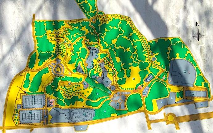 蛇ヶ谷公園マップ
