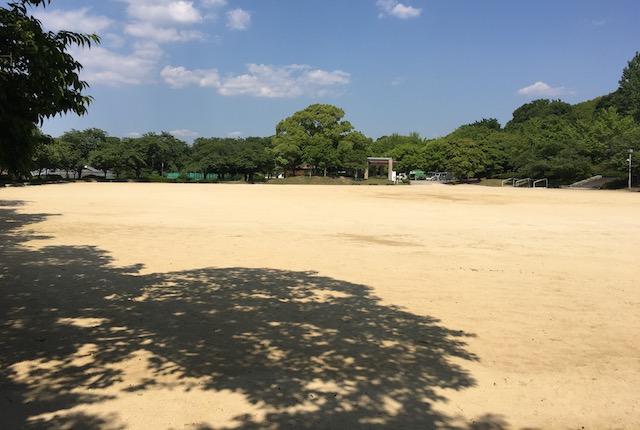 熊本県民総合運動公園多目的グラウンド