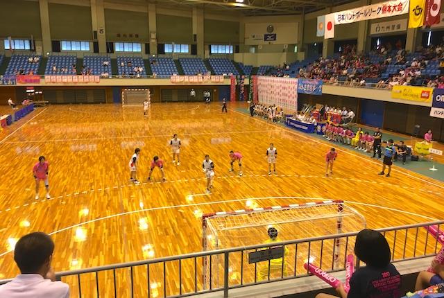 女子ハンドボール熊本大会