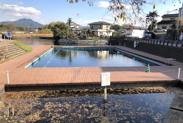 湧水公園天然プール