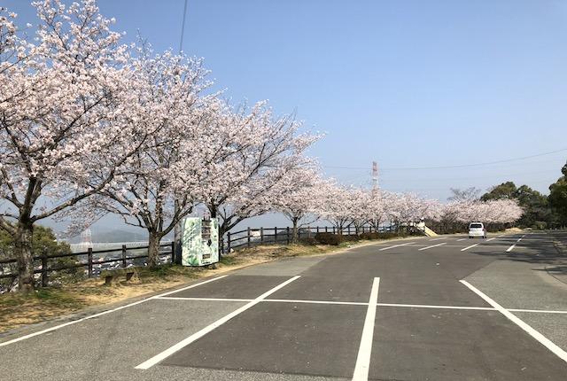 岡岳公園駐車場
