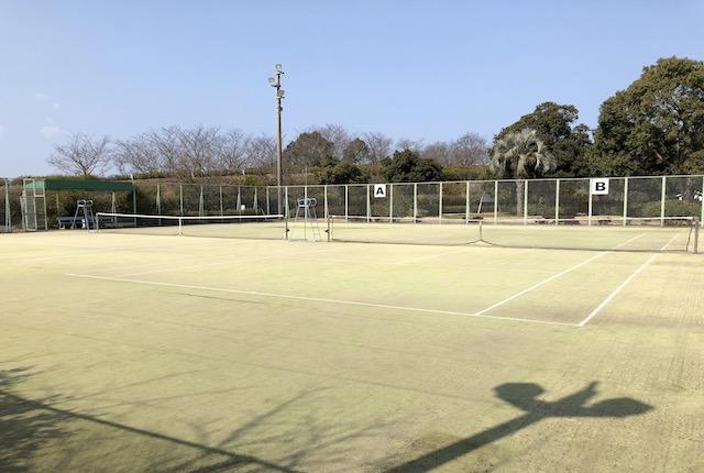 御立岬公園テニスコート