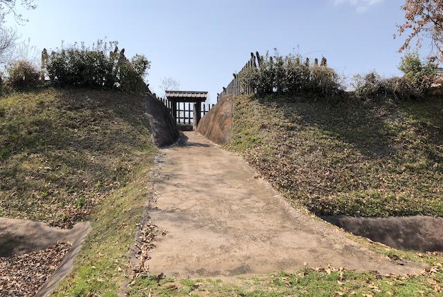中世宇土城跡