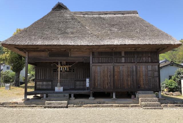山田大王神社拝殿