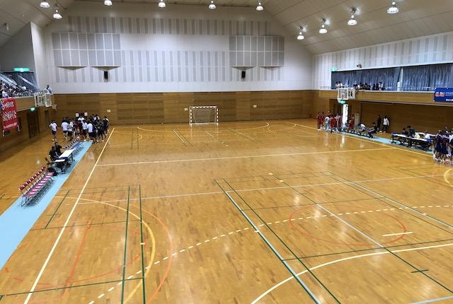 山鹿市鹿央体育館