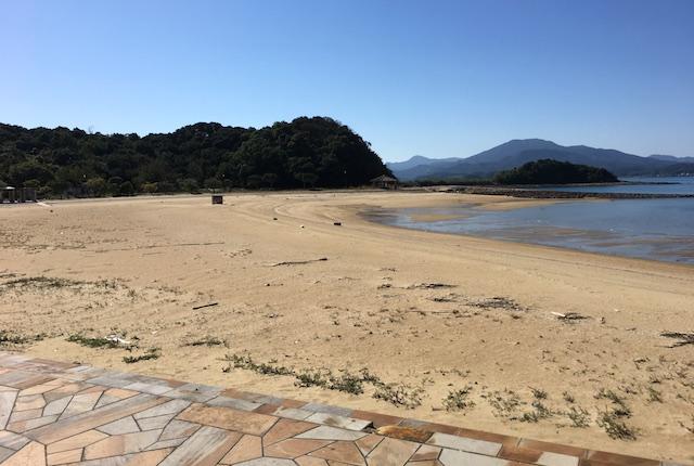 樋合島ビーチ