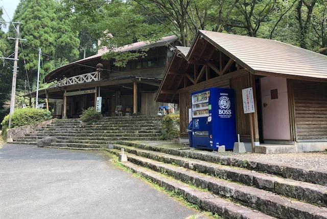 岳間渓谷トイレ