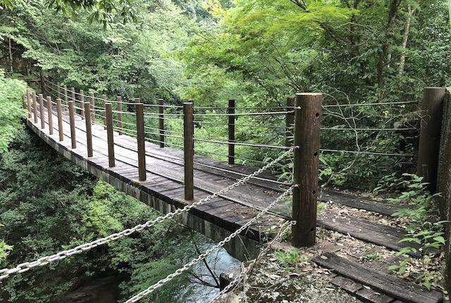 金原吊り橋
