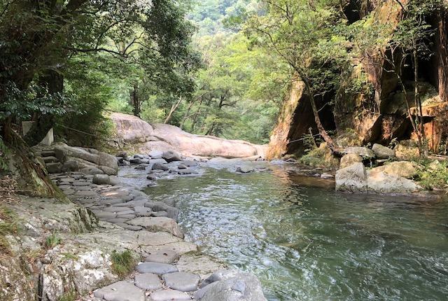 岩野川遊歩道