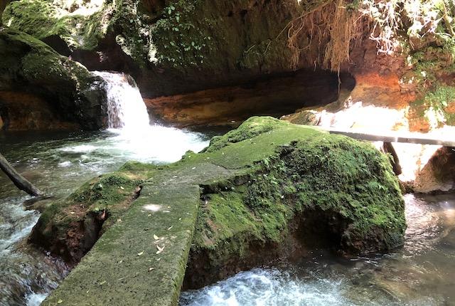 黒川温泉奥の院滝