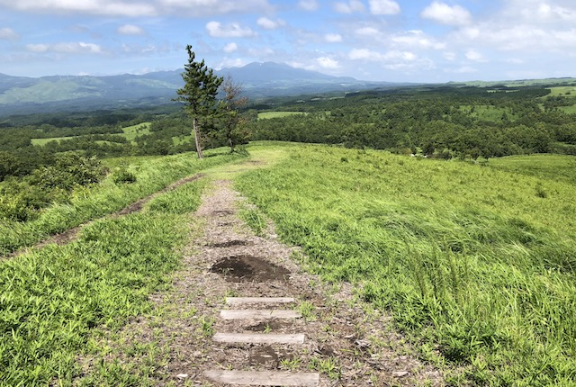 押戸石の丘遊歩道
