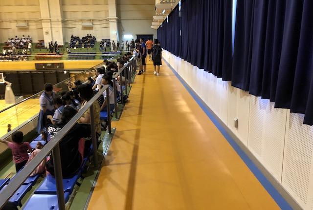 玉名市総合体育館ジョギングコース