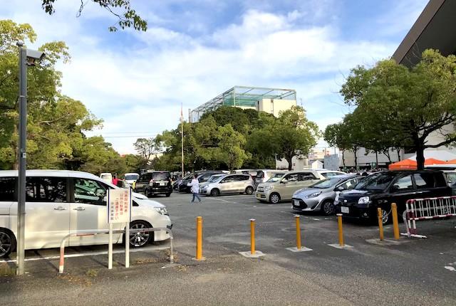 西宮中央運動公園駐車場