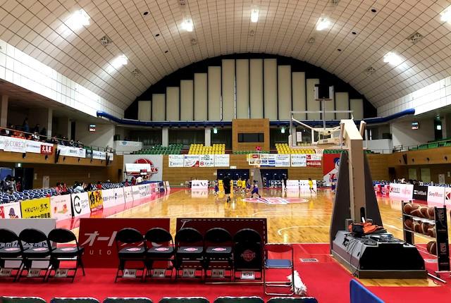 合志市総合体育館メインアリーナ