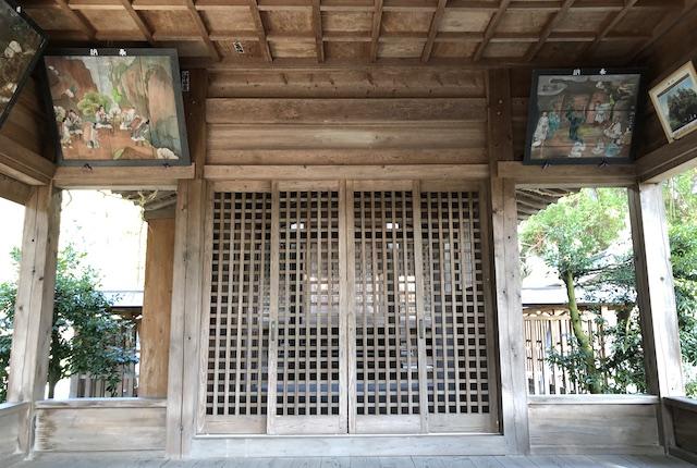 一ツ目神社拝殿