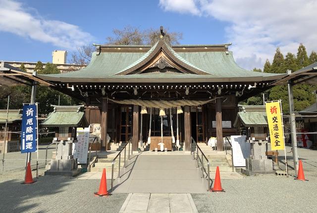 河尻神宮拝殿