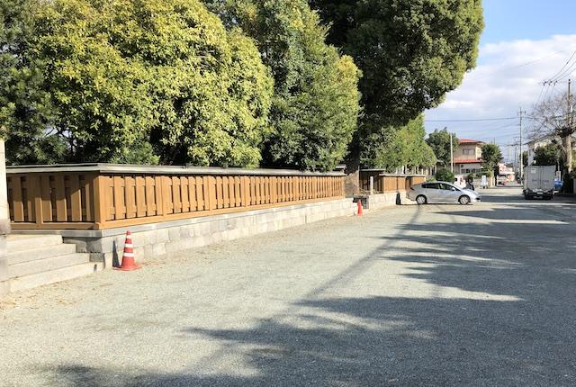河尻神宮駐車場