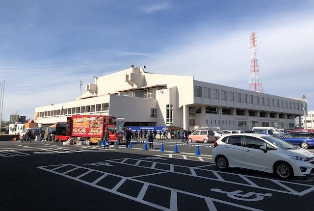 青柳公園市民体育館