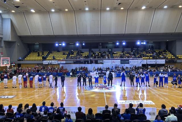 枇杷島スポーツセンター整列