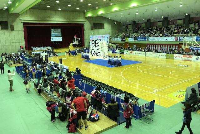 青柳公園市民体育館の座席