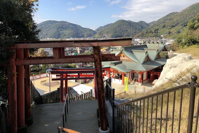 高橋稲荷神社階段