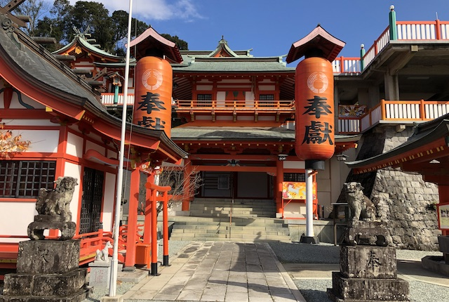 高橋稲荷神社神門