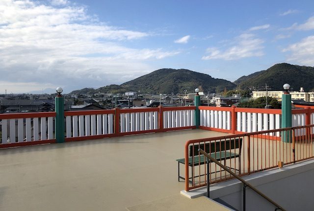 高橋稲荷神社展望スペース
