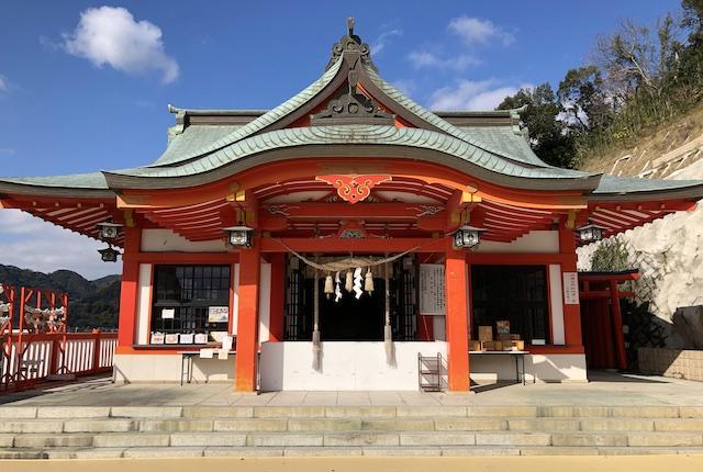 高橋稲荷神社拝殿