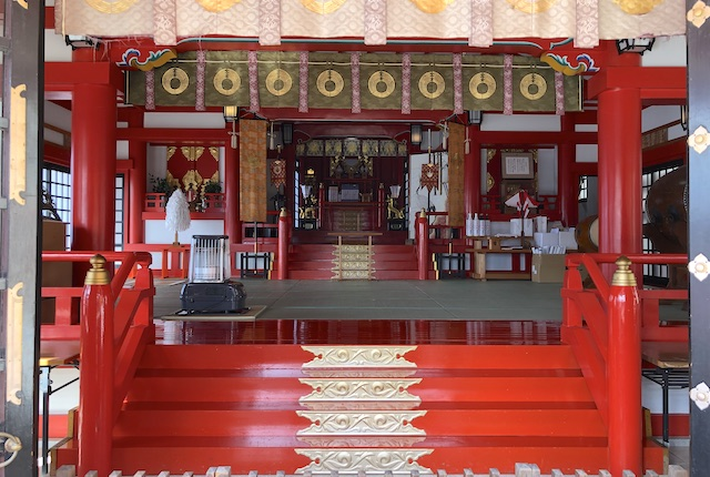 高橋稲荷神社本殿
