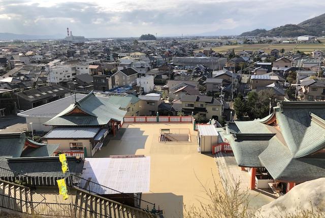 高橋稲荷神社展望台