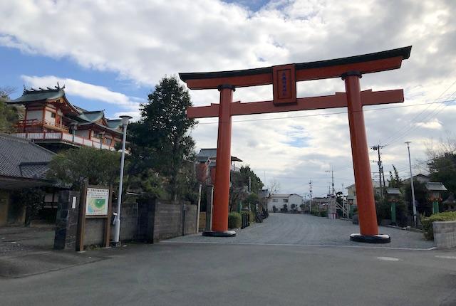 高橋稲荷神社大鳥居