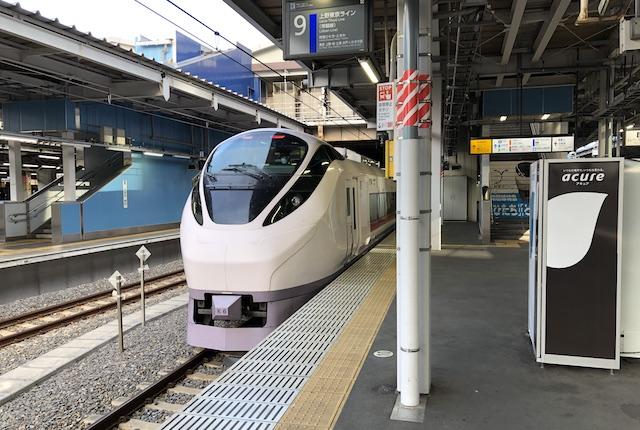 品川駅特急ひたち