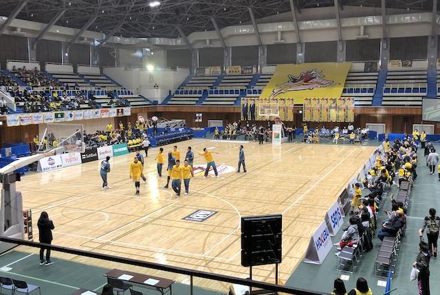 ヤマト市民体育館サインボール